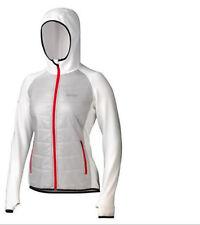 $185 Marmot Women Variant Polartec Hooded Power Stretch jacket XL ski Platinum