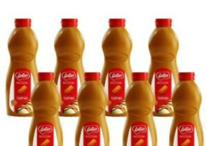 Lotus Biscoff Topping Sauce - Case of 8 x1kg Squeezy Bottles BBD 25/6/2022