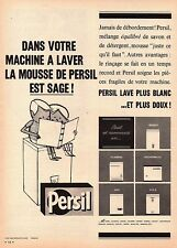 ▬► Publicité French Print advertising  - PERSIL - 1961 -