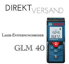 Bosch láser distancia cuchillo GLM 40 Professional medidor de técnica de medición nuevo