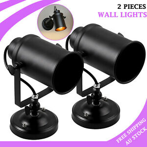 2X Vintage Retro Industrial  Wall Sconce Wall Lights Rustic Porch Aisle Lamp AU