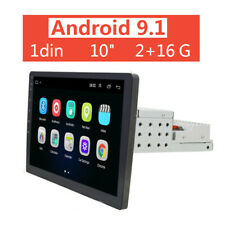 2+16G 10 inch Android 9.1 WiFi 1 DIN Car Radio Stereo FM Player GPS Bluetooth