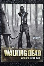 Walking Dead Season 2 Pet Zombie Walker Sketch Art by Kyle Babbitt Trading Card