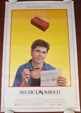 SECRET ADMIRER Original (1985) 27x41 Movie Poster ~ ROLLED NEAR MINT CONDITION!