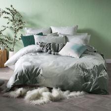 Linen House Wilderness Grey Queen Bed Size Duvet Doona Quilt Cover Set
