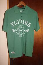 Ooh Mow Mao OMM Tijuana Northwest Raging Bulls 79 Green Polo Shirt Size Medium