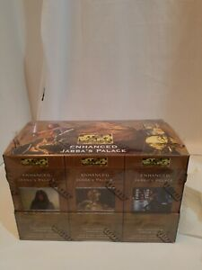 STAR WARS CCG ENHANCED JABBA'S PALACE SEALED BOX 12 DECKS RARE VINTAGE