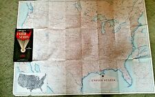 """VINTAGE HAGSTROM  A New map of The UNITED STATES Highways Map #4000 H 37"""" x 27"""""""