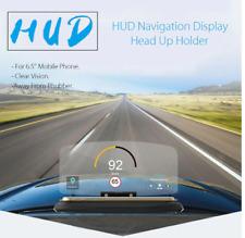 Universal Car HUD Head Up Display Projector Phone Navigation Smartphone Holder G