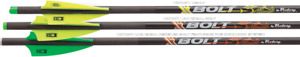VICTORY XBOLT CROSSBOW BOLTS, SPINE ALIGNED!, 6pk
