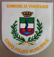"""Toppa/Patch Stemma """"CORPO POLIZIA MUNICIPALE - COMUNE DI VIAREGGIO"""" - (Rarità)"""