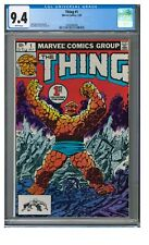 Thing #1 (1983) Marvel Bronze Age 1st Issue Byrne Cover CGC 9.4 FF234