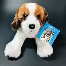 "Biltmore Estate Cedric St. Bernard Dog 12"" Plush Stuffed 2011 with tags"