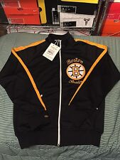 Mitchell And Ness Boston Bruins Full Zip Track Jacket  Sz Large (44)