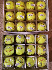 "Lot of 2 Diamond Flexi Ball Soft Touch Core 12"" Softballs 2 Dozen Balls 24 Balls"