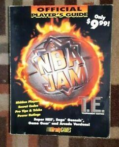 NBA Jam Bradygames Official Strategy Guide SNES/Sega Genesis/SegGame Gear/Arcade