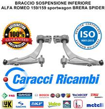 BRACCIO SOSPENSIONE INFERIORE ALFA ROMEO 159 BRERA SPIDER 1.9 JTDM 2.4 JTDM 1.8