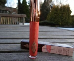 BNIB CHARLOTTE TILBURY Collagen Lip Bath Lip Plumping Gloss - Peachy Pump