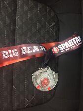 Rare New 2019 Spartan Race Sprint Medal Special Mountain Series Big Bear