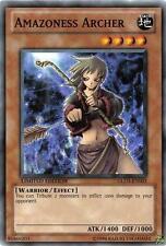 Yu-Gi-Oh Yugioh Amazoness Archer GLD3-EN003 Common Mint!
