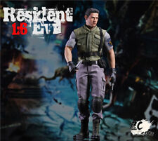 1:6th Collectable Figure Chris Redfield Action Full Set doll   Clothing in stock