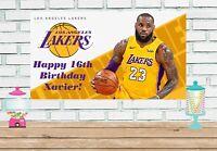 2x4 Lebron James vinyl Birthday Banner
