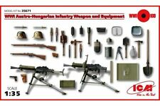 ICM 35671 1/35 WWI Austro-Hungarian Infantry Weapon and Equipment