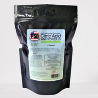 1LB CITRIC ACID (ANHYDROUS) GRANULAR HIGH-QUALITY FCC/USP GRADE 100%PURE NON-GMO
