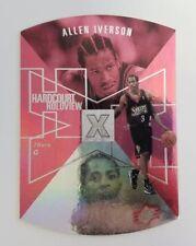 1997/98 Upper Deck SPx Allen Iverson Hardcourt Holoview Die Cut Card