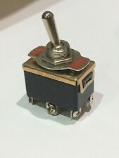 New Toggle Flick Switch 10A 250VAC / 15A 125VAC Double Pole - DPDT