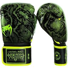 Venum Fusion Boxing Gloves Yellow MMA Sparring Muay Thai Gloves 12oz
