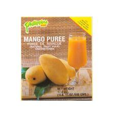 500g Mango Fruchtmark Purée de Mangue non Sucré - Donne Jus - Mangopulp Pulp