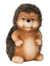 Große Tierfigur Igel steht H 27 cm Herbstdeko Figur für Haus und Garten