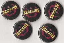 1x Red Skins Button RASH Punk Oi Ska Skinhead Oi! Redskins Antifa Reggae 161 ARA