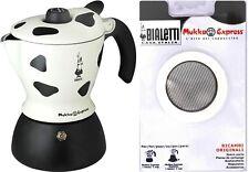 mucca Caffettiera cappuccino Bialetti Mukka Express 1 tazza moka originale