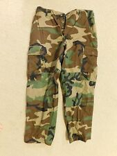 US  ARMY WOODLAND HOT WEATHER BDU PANTS SIZE SMALL-X SHORT