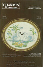 Swans Cygnes Embroidery KIT #04-125 Jan Lynn Charmin animals New repackaged