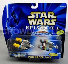 Micro Machines Star Wars Episode I Pod Racer Pack I Rare First Edition Anakin 99