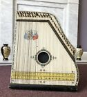 ANTIQUE 'THE OXFORD ACADEMY OF MUSIC' ROYAL PIANO HARP ZITHER SAXONY c1900's