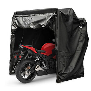 Heavy Duty Large Motorcycle Shelter Shed Cover Storage Tent Strong Safe Garage