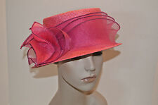 ANGIOLO FRASCONI FIRENZE MADE IN ITALY STRAW MED BRIM NEIMAN MARCUS TAGS REMAIN