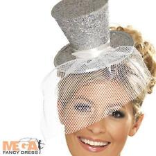 Hats & Headwear Silver Fancy Dresses