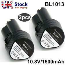 2X Replace Makita Battery BL1013 Rechargeable 10.8V 12V 1.3Ah Lithium For BL1014