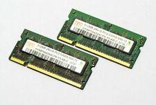 Hynix 2x512mb = 1gb ddr2 pc2-5300s 555mhz notebook memoria ram per MacBook/Pro