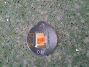 Lingote Oro Puro 24 Kilates GOLD BARREN