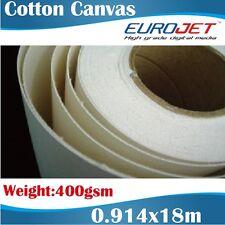 Blank Canvas/Artists Canvas/Cotton Canvas/Printable Canvas Rolls 0.914x18M