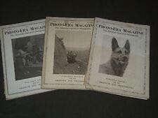 1924 PHOTO-ERA MAGAZINE LOT OF 3 ISSUES - NICE PHOTOS - O 2283