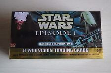 STAR WARS EPISODE 1 SERIES 2 WIDEVISION HOBBY EDITION COLLECTORS CARDS BASE SET