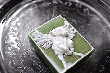 Zodiac Soap - Taurus Soap - Handmade Soap - Evergreen Green Color - Bull Soap