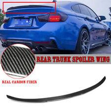 Carbon Fiber Rear Trunk Spoiler For BMW F36 428i 430i 435i 440i Gran Coupe 14-18